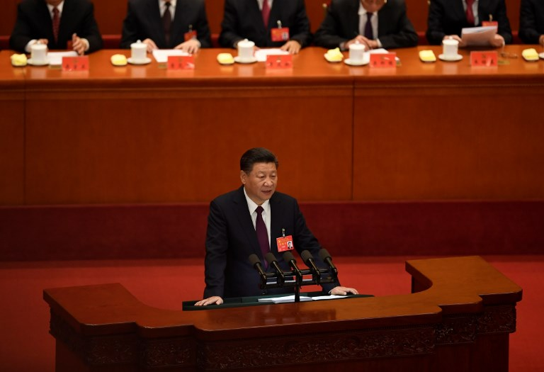xi jinping speech party congress