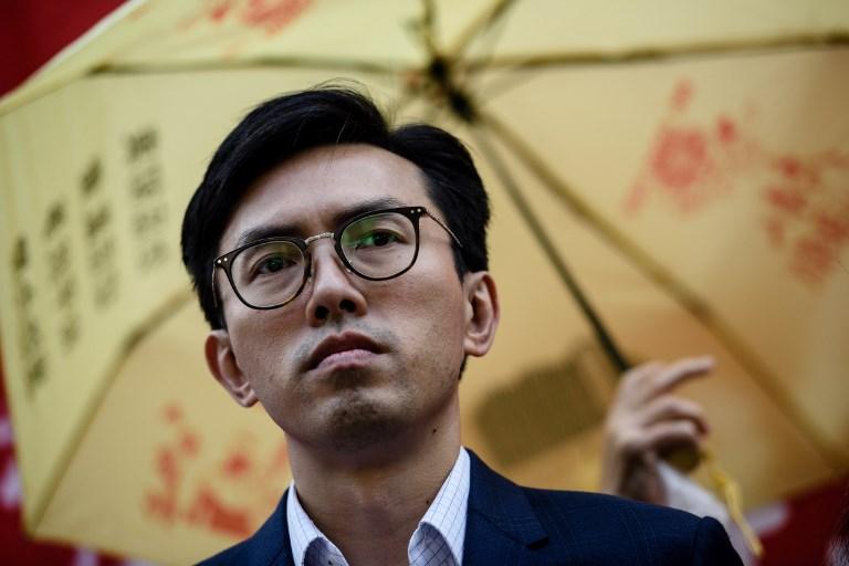 Pro democracy activist Avery Ng