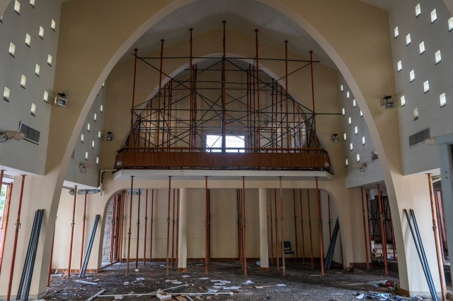 union church demolition