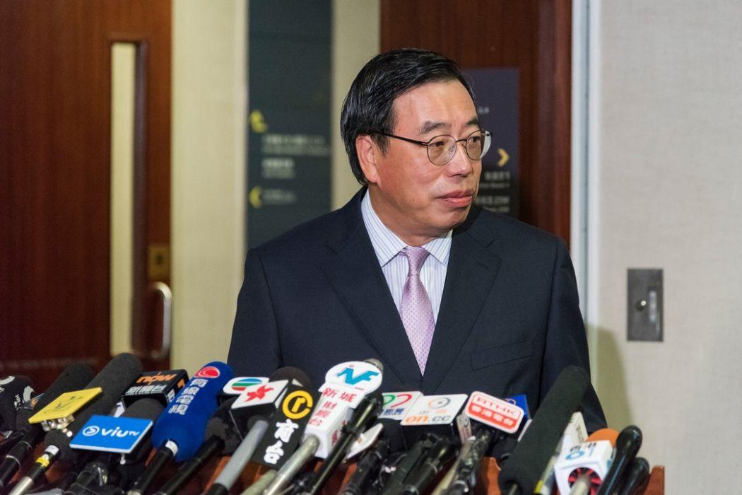 LegCo President Andrew Leung