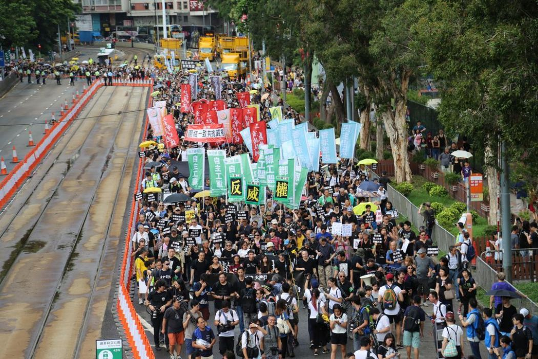 national day democracy protest prisoners