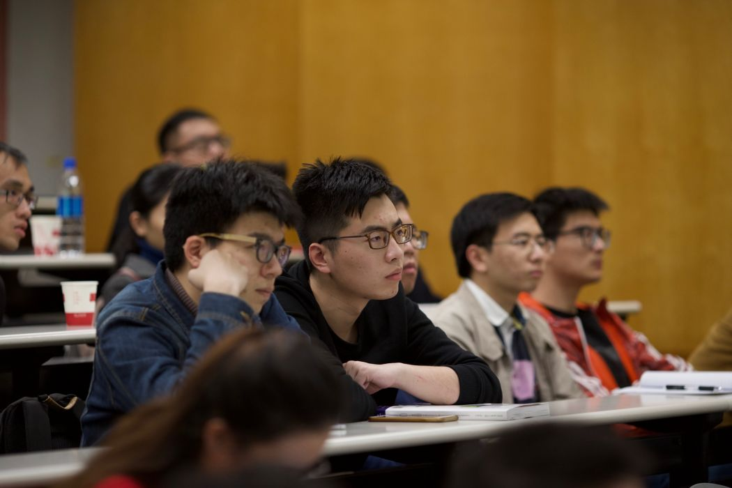 students university lecture at PolyU