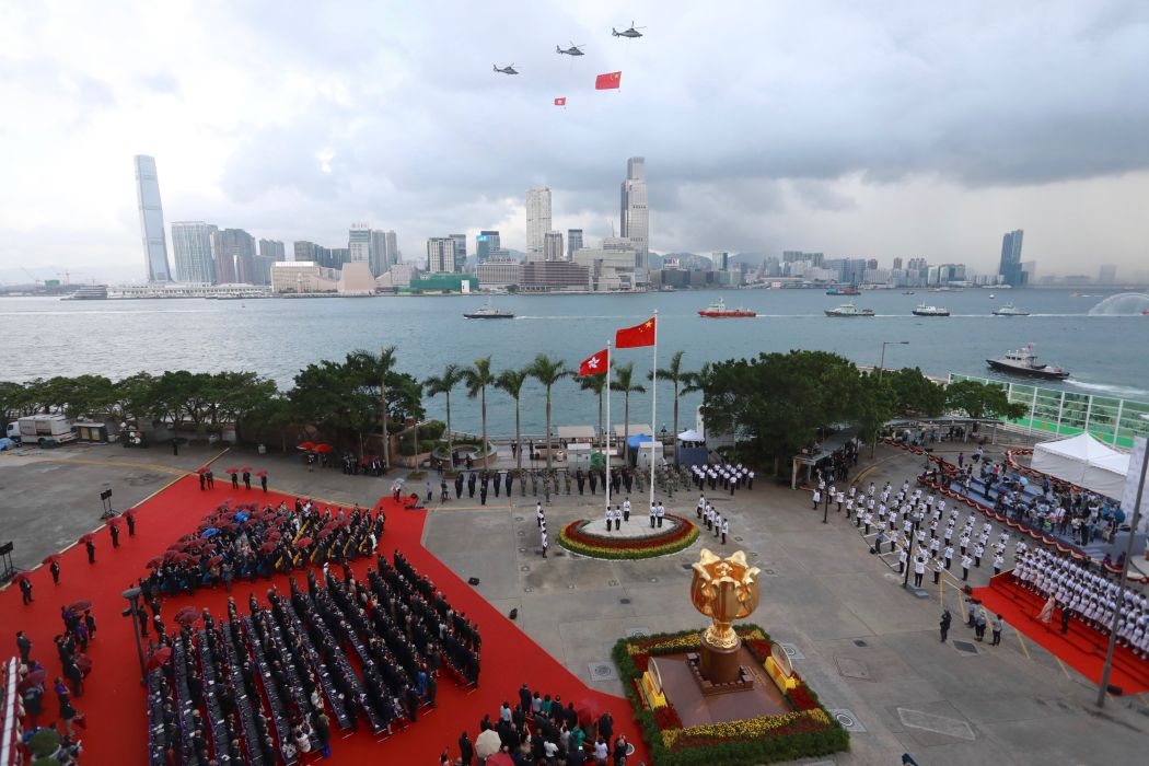 China extends national anthem law to Hong Kong