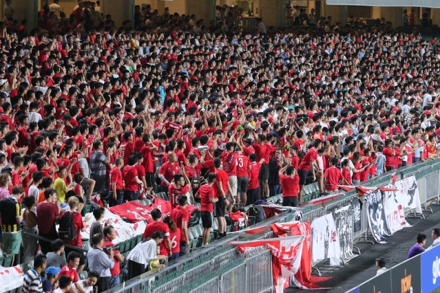Hong Kong fans boo national anthem