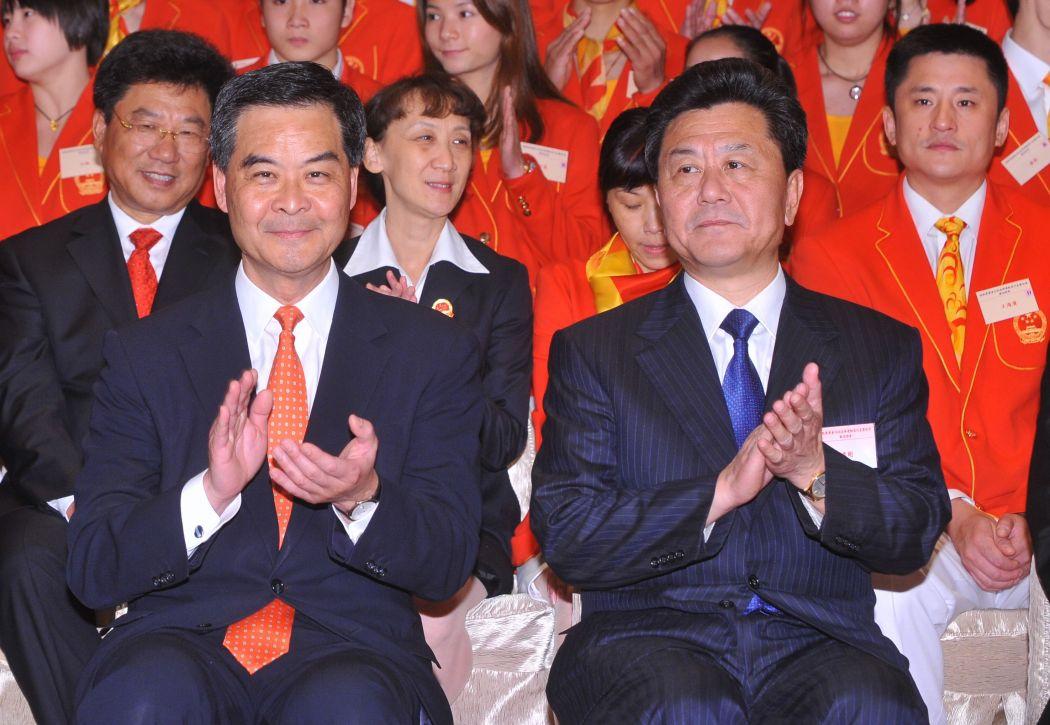 Li Gang Leung Chun-ying