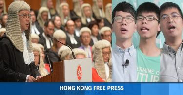 lawyers letter hong kong joshua nathan alex chow wong