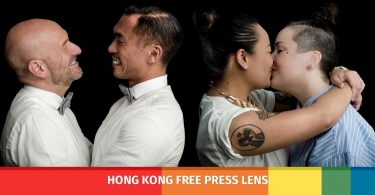 lgbt gay kiss portraits