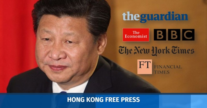 xi jinping censorship press freedom