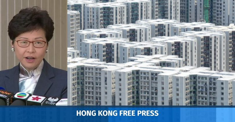 Carrie Lam housing