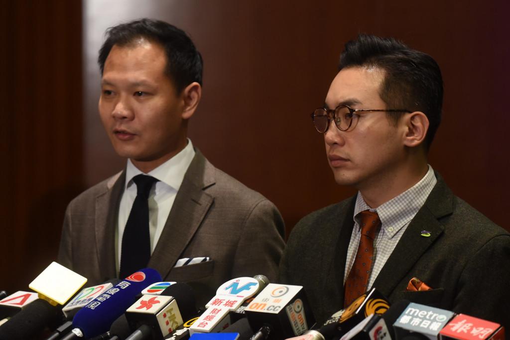 Dennis Kwok Alvin Yeung