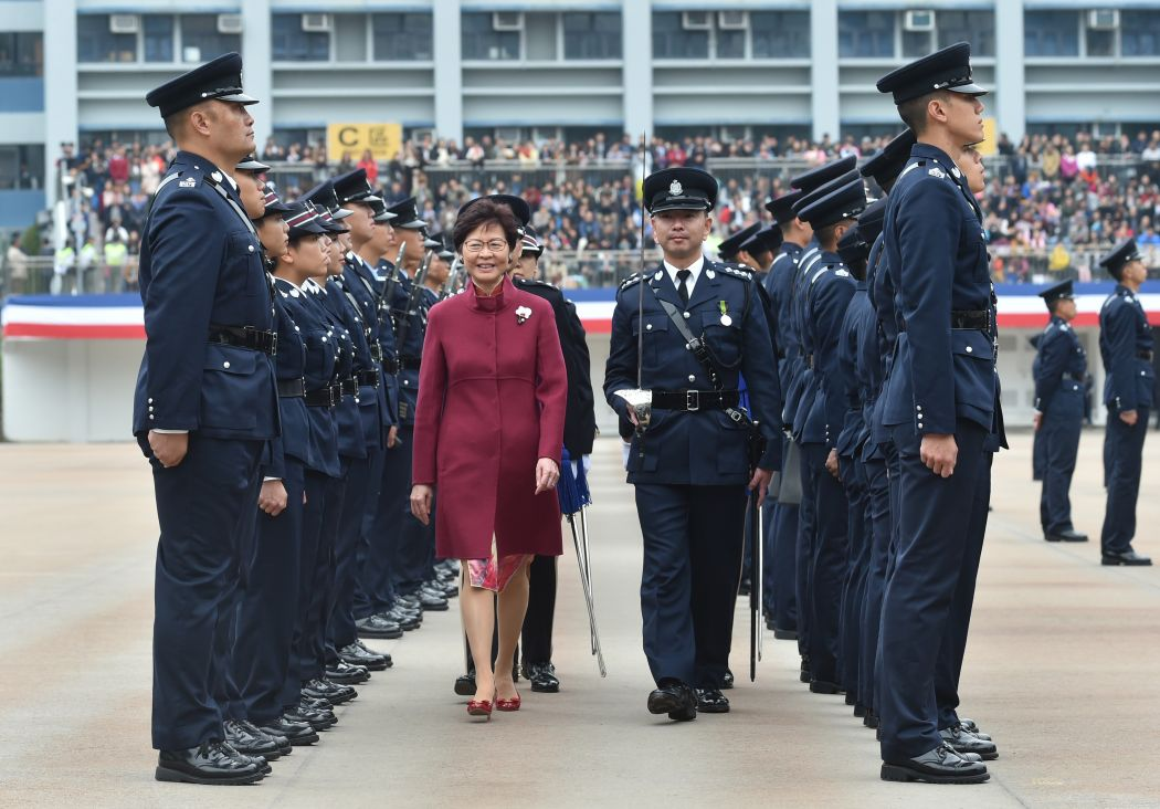 carrie lam police