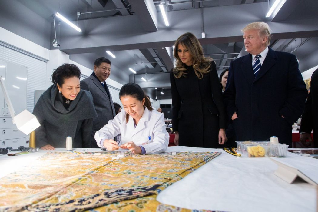 donald trump in china