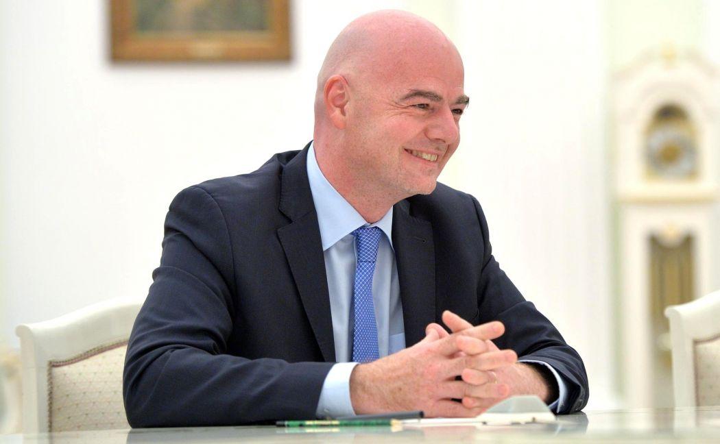 FIFA chief Gianni Infantino