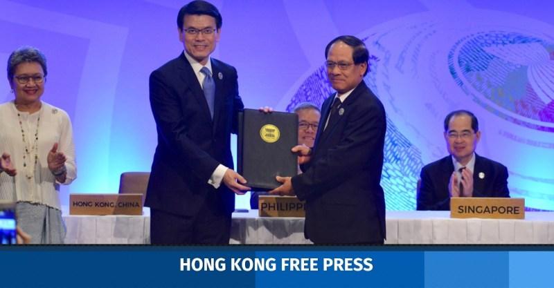 The Secretary for Commerce and Economic Development, Edward Yau