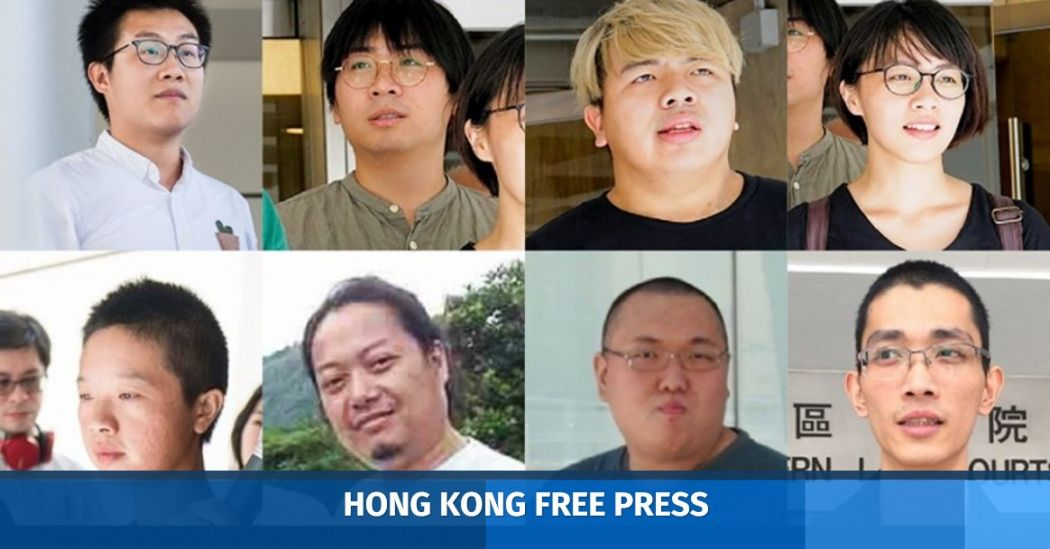 eight activists released on bail