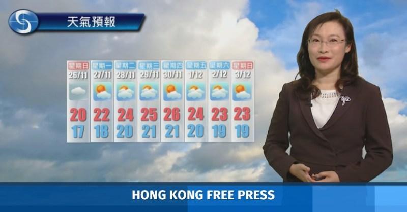 hong kong warm weather
