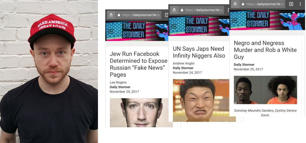 39013ee014 Embattled US neo-Nazi site The Daily Stormer finds a home in Hong ...