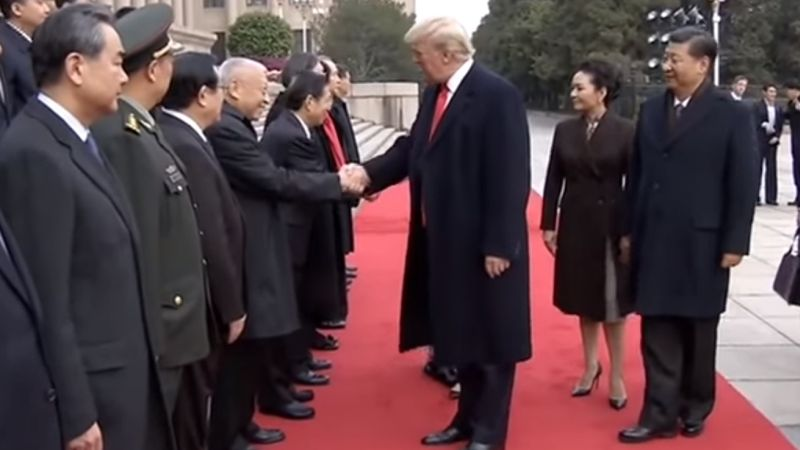 Tung Chee-hwa Donald Trump