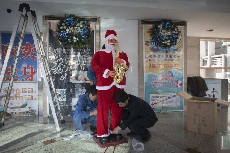china christmas - How Does China Celebrate Christmas