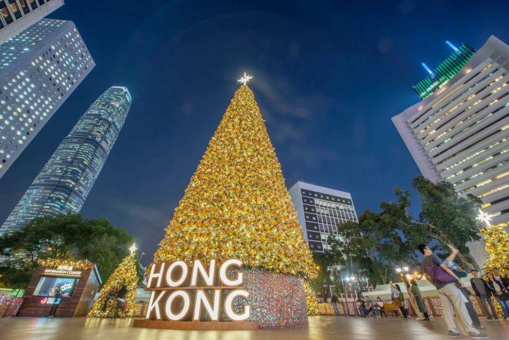 hong kong christmas