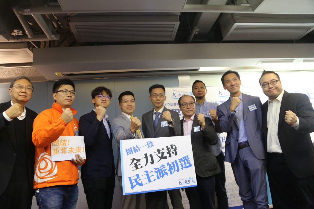 Steven Kwok Tommy Cheung Gary Fan Ramon Yuen Frederick Fung Ken Tsang Edward Yiu
