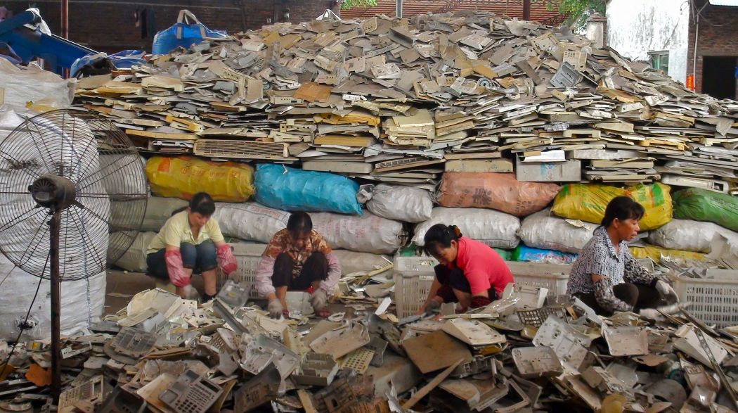 China electronic waste