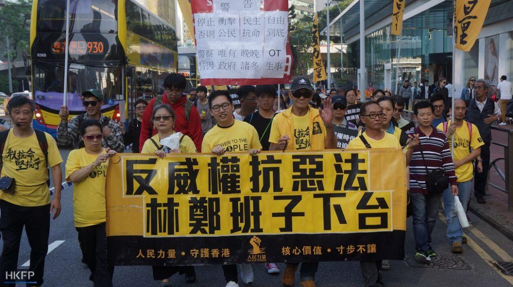 democracy protest  people power