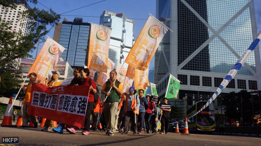 democracy protest