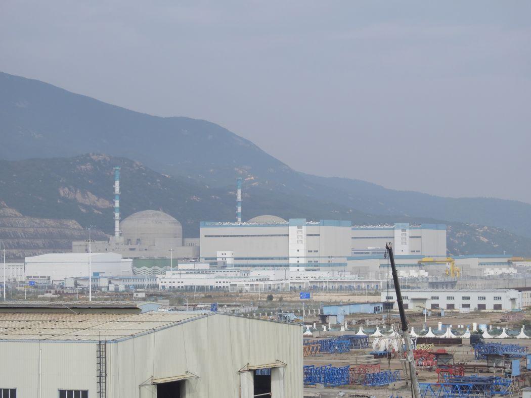 Taishan nuclear plant