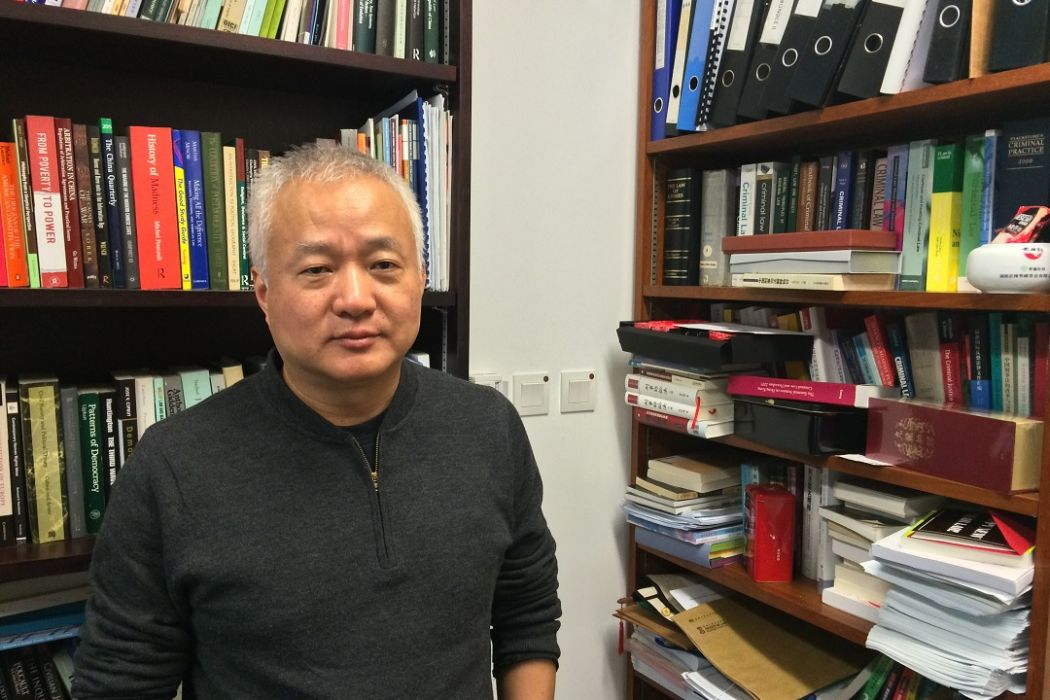 HKU Hong Kong University Law Constitutional Professor