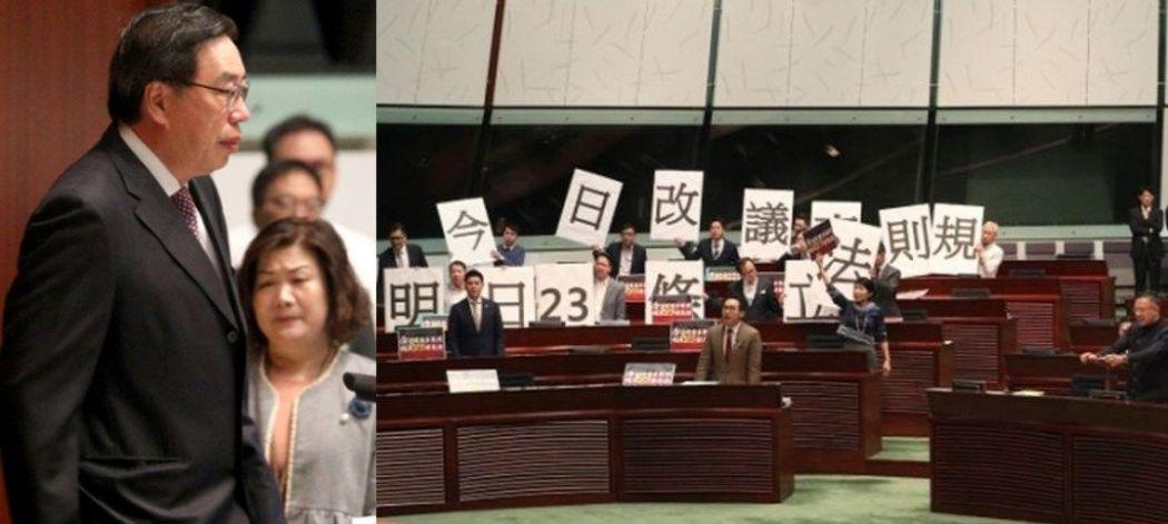 Andrew Leung Pro-democracy camp lawmakers