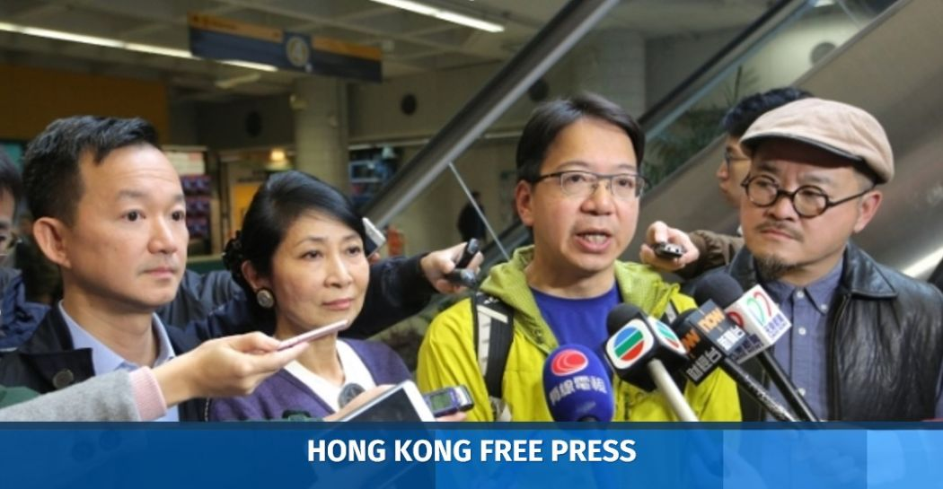 Pan-democrats to camp out in protest of changes to LegCo ...