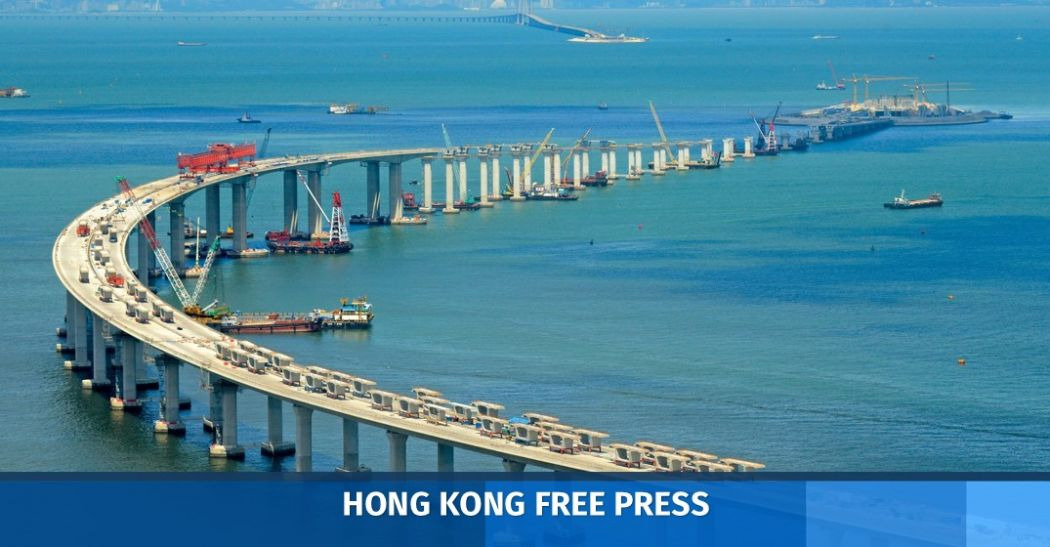 Hong Kong-Zhuhai-Macao Bridge.