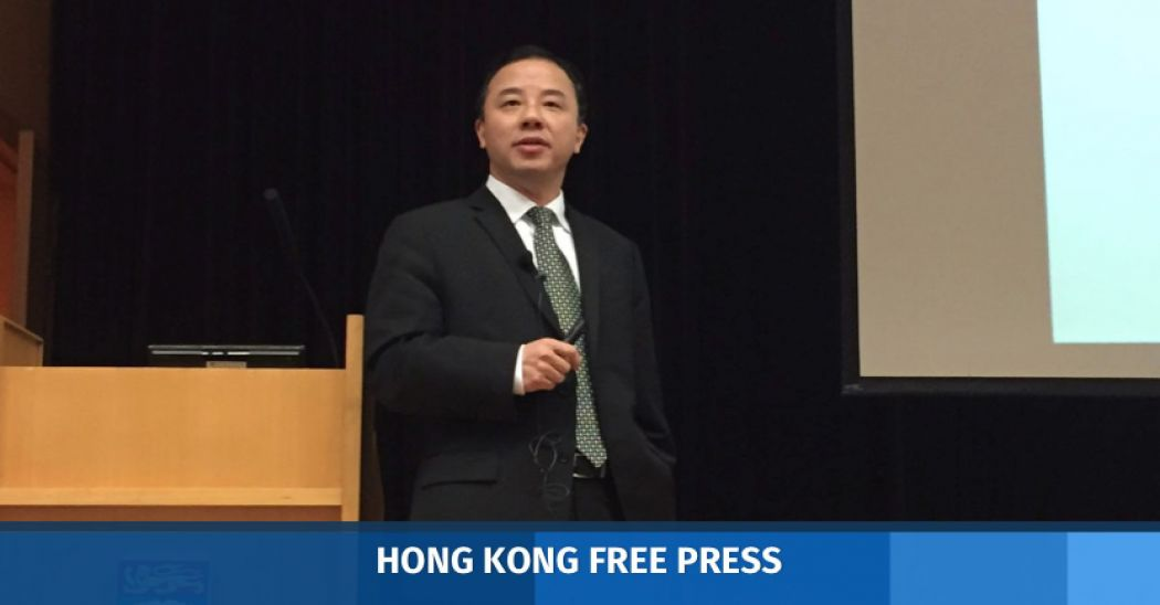 Hong Kong University S Vice Chancellor Candidate Stresses