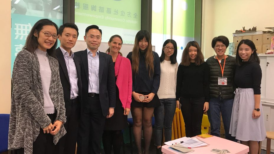 Teaching team for the legal education programme