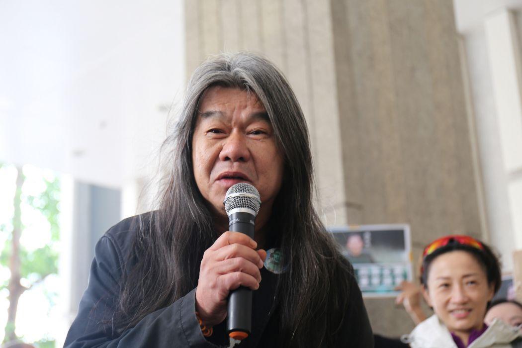 Image result for Leung Kwok-hung, 2018 photos