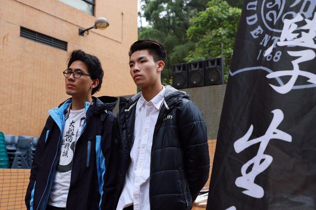 baptist university Andrew Chan and Lau Tsz-kei
