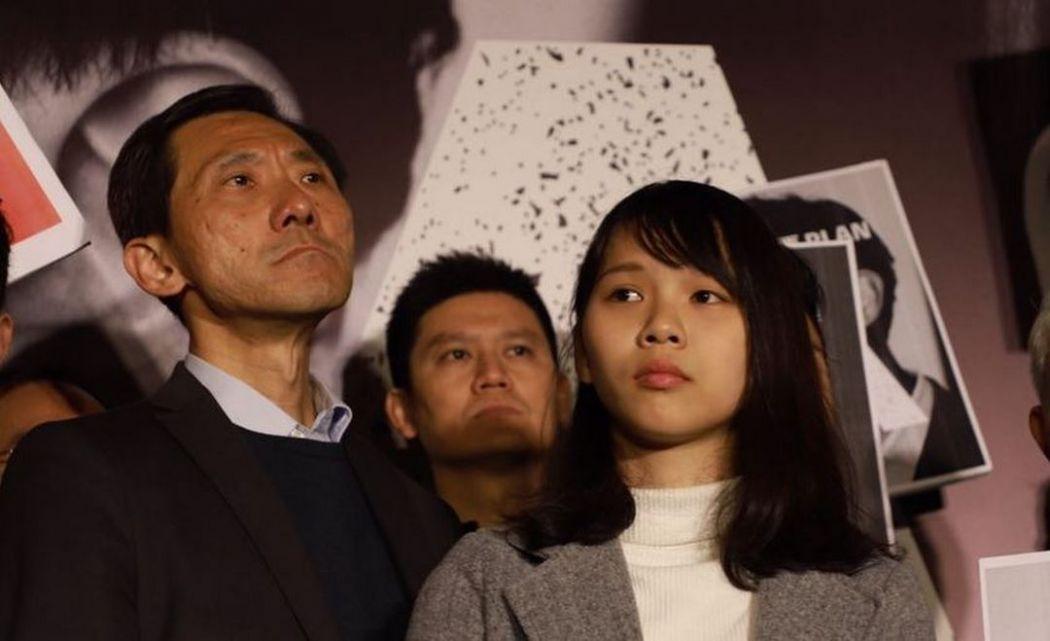 Edward Yiu and Agnes Chow