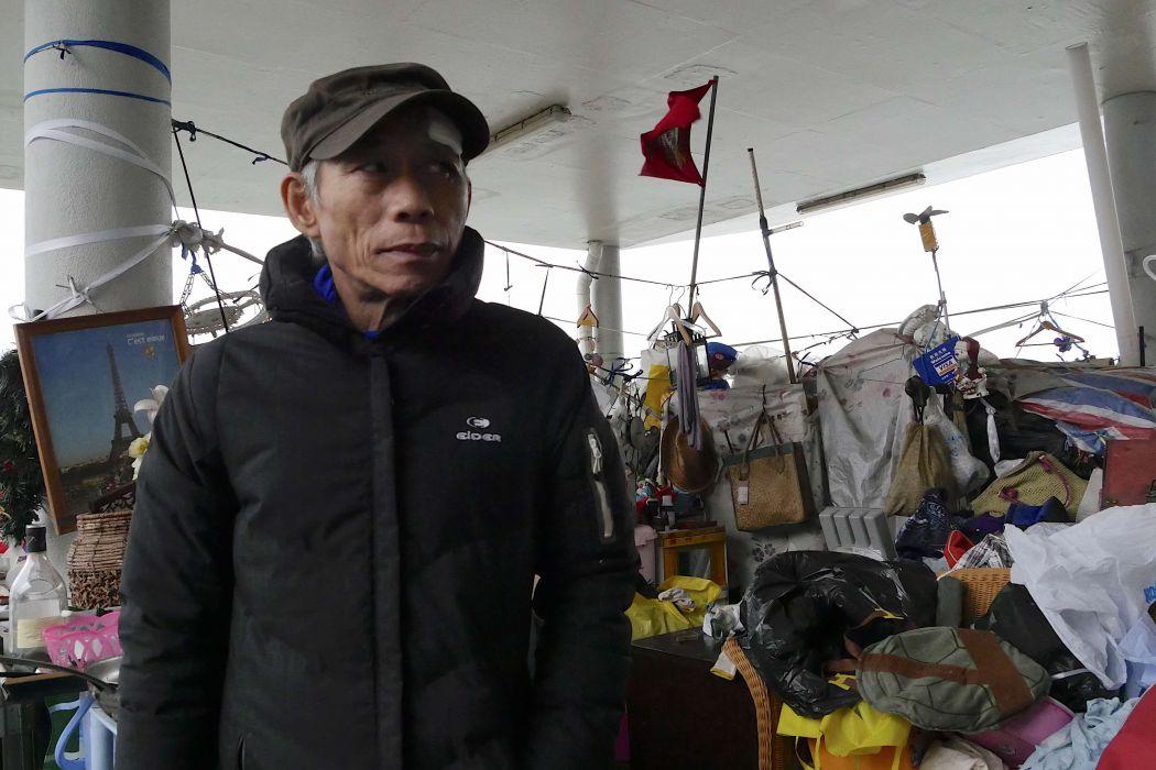 kwun tong pier homeless