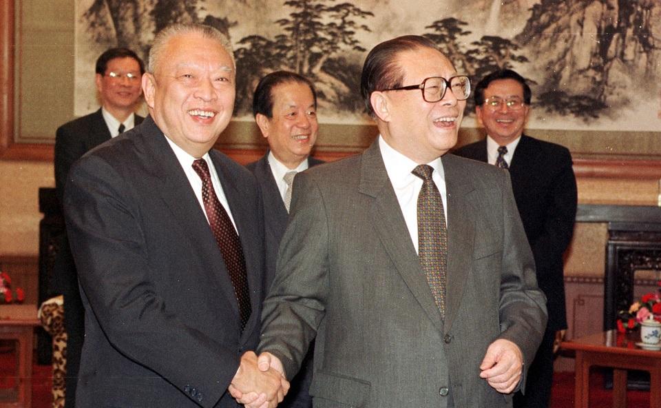 Jiang Zemin Tung Chee-hwa