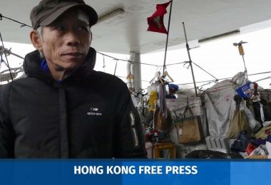 kwun tong pier homeless