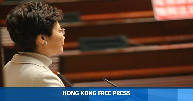 carrie lam legislature