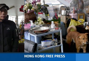 Kwun Tong Pier Homeless People