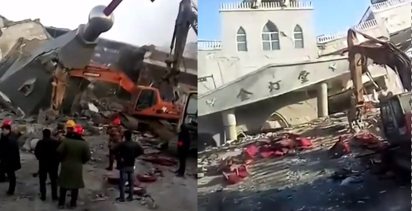 China demolishes Christian megachurch