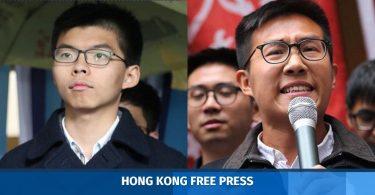 Raphael Wong Joshua Wong
