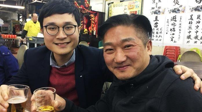 Ventus Lau and James Chan