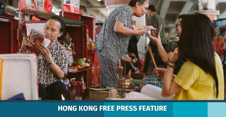 villain hitting causeway bay hong kong