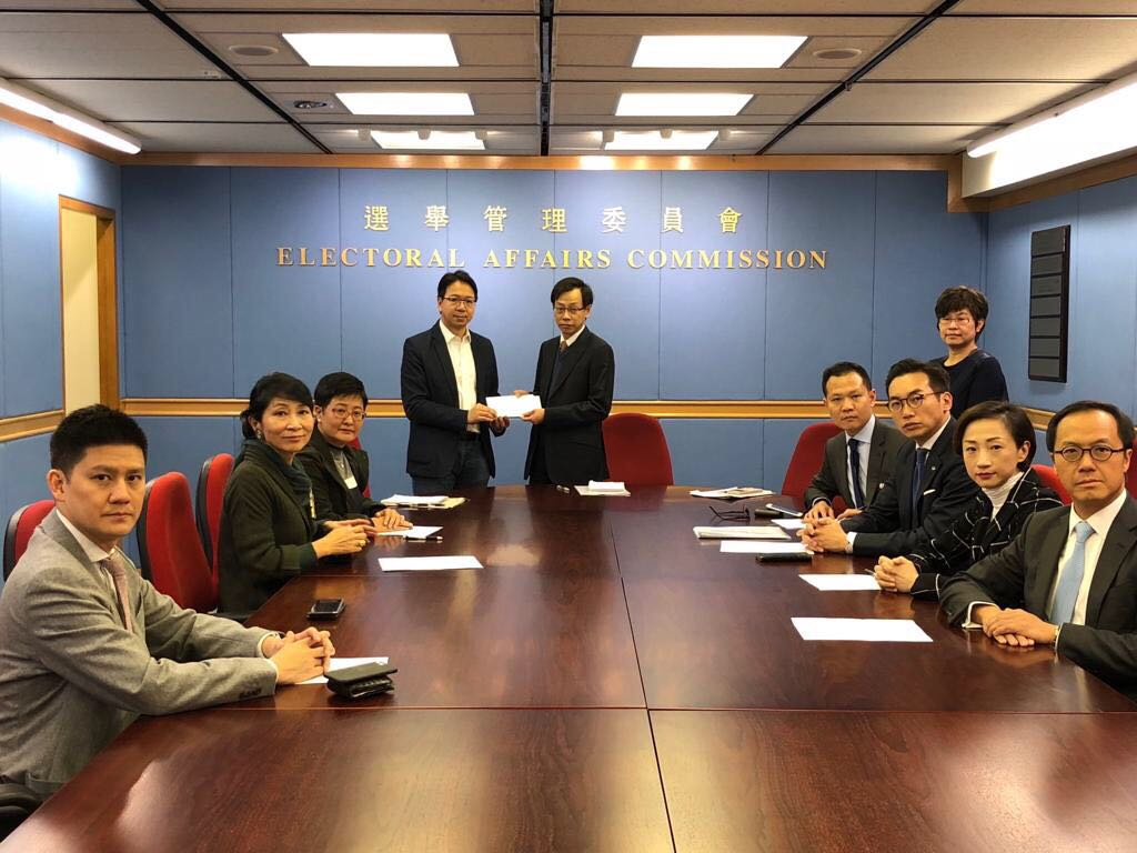 Pro-democracy lawmakers Wong See-man
