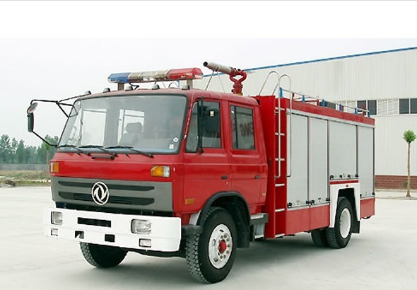 The Dongfeng water cannon fire truck.