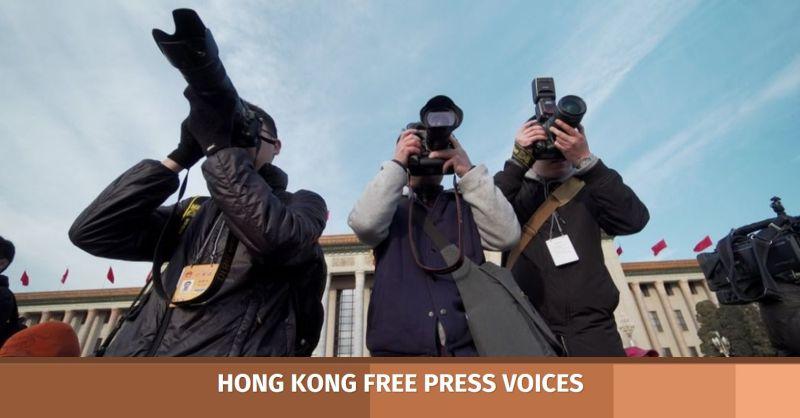 Journalism reporter reporting media
